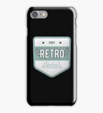 RETRO BUTCH iPhone Case/Skin
