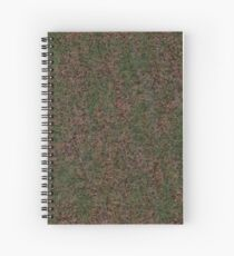 Bailey's Acacia, or Cootamundra Wattle Camo Spiral Notebook