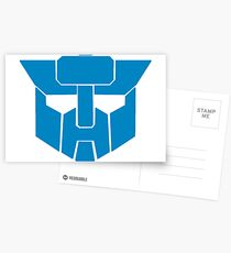 Transformers - Wreckers Logo Postcards