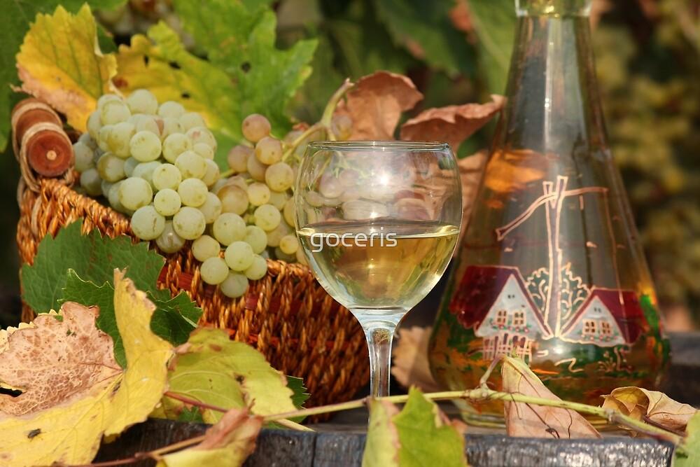 white wine  by goceris