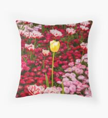 Floral scene 2 Throw Pillow