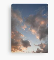 The Cloudy Sunset II Canvas Print
