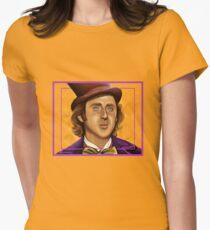 The Wilder Wonka Women's Fitted T-Shirt