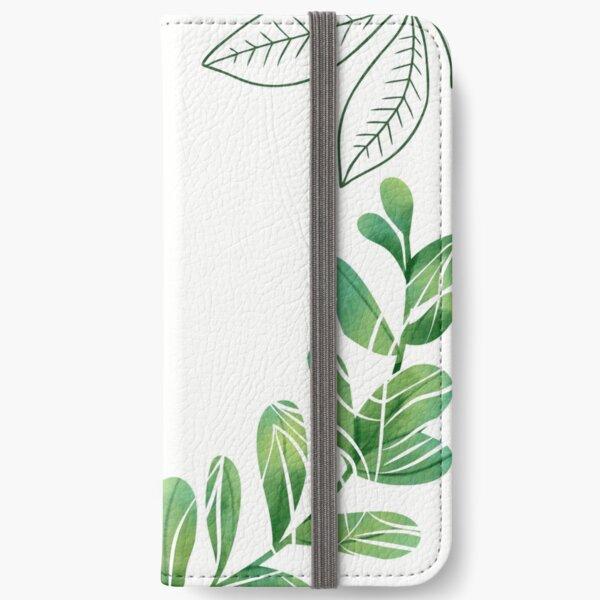 Tropical Leaf design  iPhone Wallet