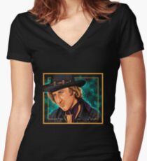 The Wilder Jim Women's Fitted V-Neck T-Shirt