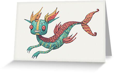 The Fish Dragon by Enrique Figueroa