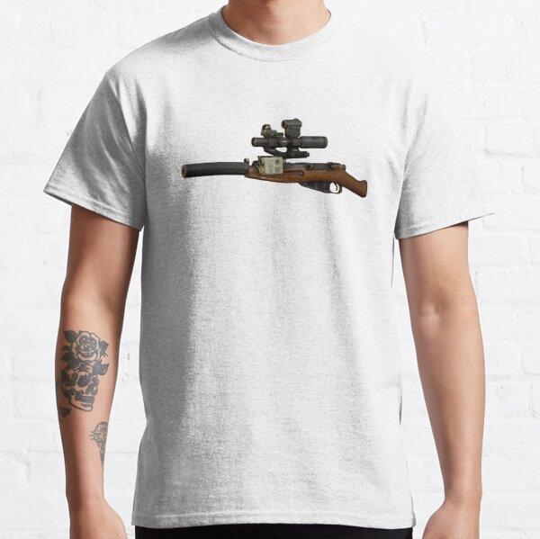 Échapper au fusil Tarkov Chad Mosin T-shirt classique
