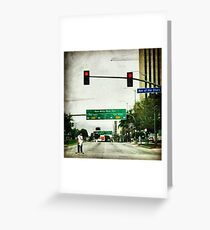"""""""Avenue of the Stars"""" Greeting Card"""