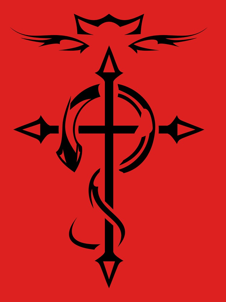 Black Fullmetal Alchemist Flamel | Unisex T-Shirt