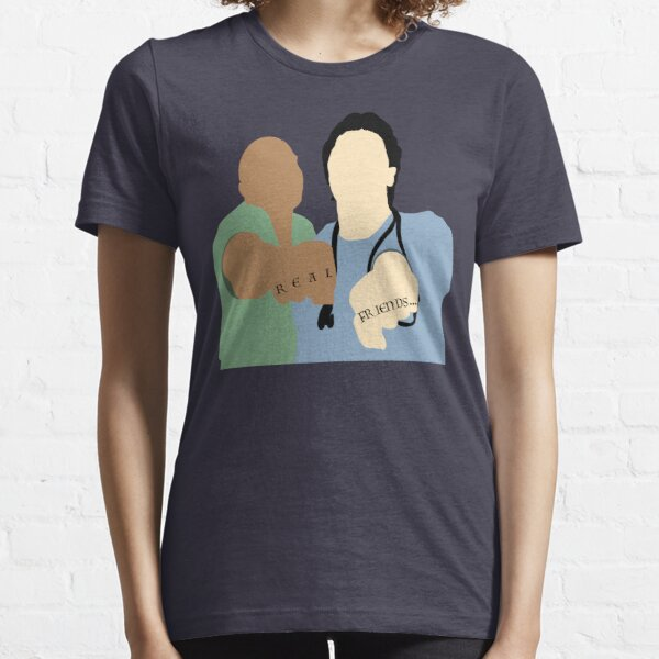 Scrubs Turk & JD - Fake Doctors, Real Friends Essential T-Shirt