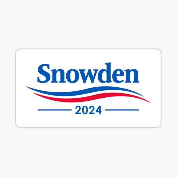 Snowden 2024 Sticker