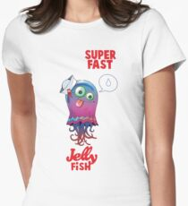 Superfast Jellyfish Women's Fitted T-Shirt