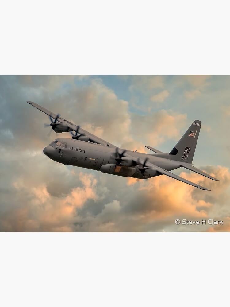 USAF C-130 Hercules by SteveHClark