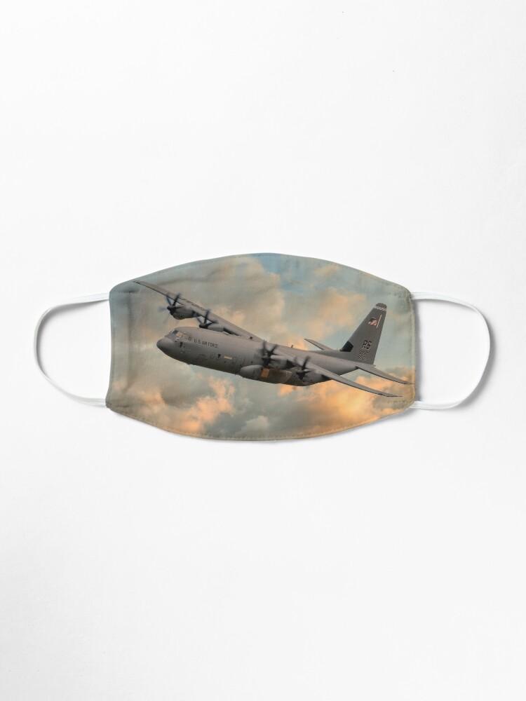 Alternate view of USAF C-130 Hercules Mask