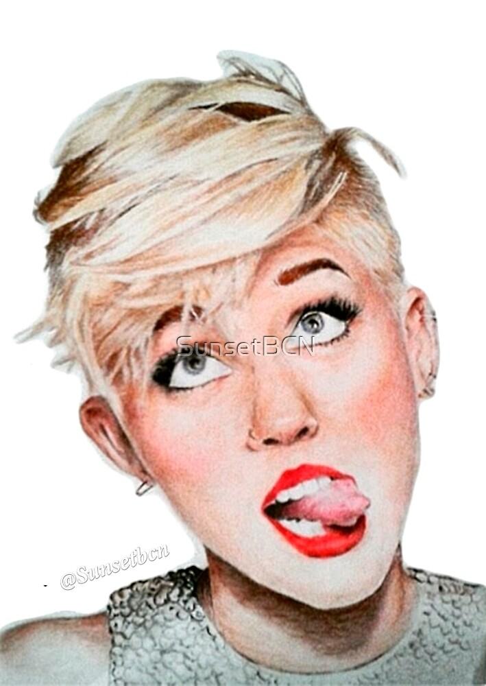 Miley Cyrus by SunsetBCN