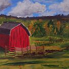The Little Red Barn by Terri Holland