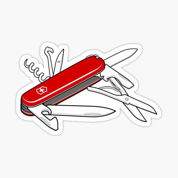 Swiss Army Knife Sticker