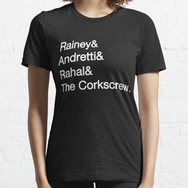 Laguna Seca Typography - Dark Edition Essential T-Shirt
