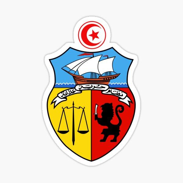 Wappen von Tunesien, 1963-1987 Sticker