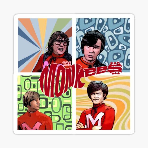 Monkeemen 4 Sticker