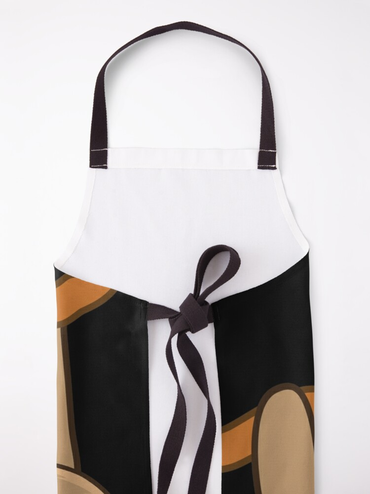 Alternate view of Cute Sloth! Apron