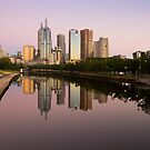 Melbourne Reflection by Timo Balk