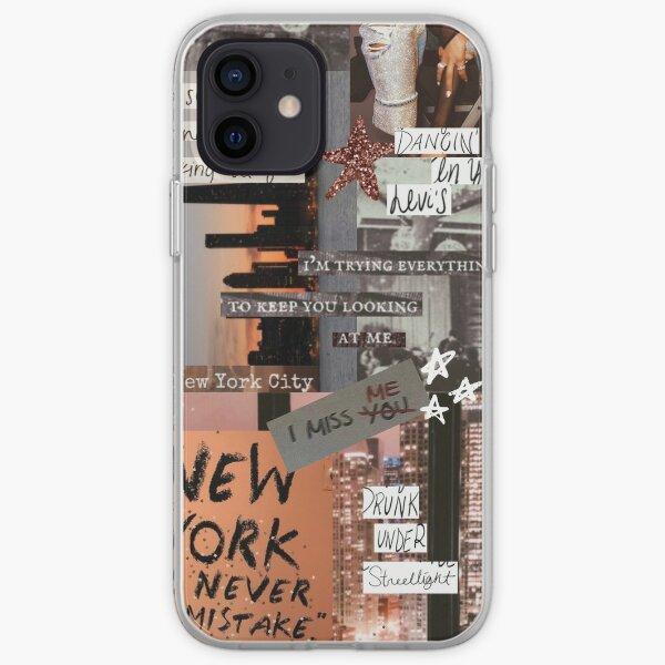 Collage de New York Coque souple iPhone