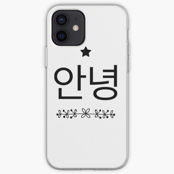 Annyeong iPhone Soft Case
