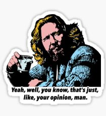 The Big Lebowski and Philosophy 1 Sticker