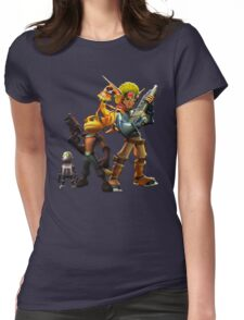 Jak & Dexter and Ratchet & Clank Womens Fitted T-Shirt
