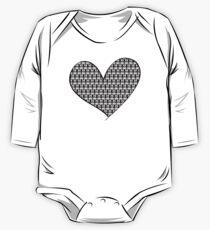 221B Wallpaper Heart Kids Clothes