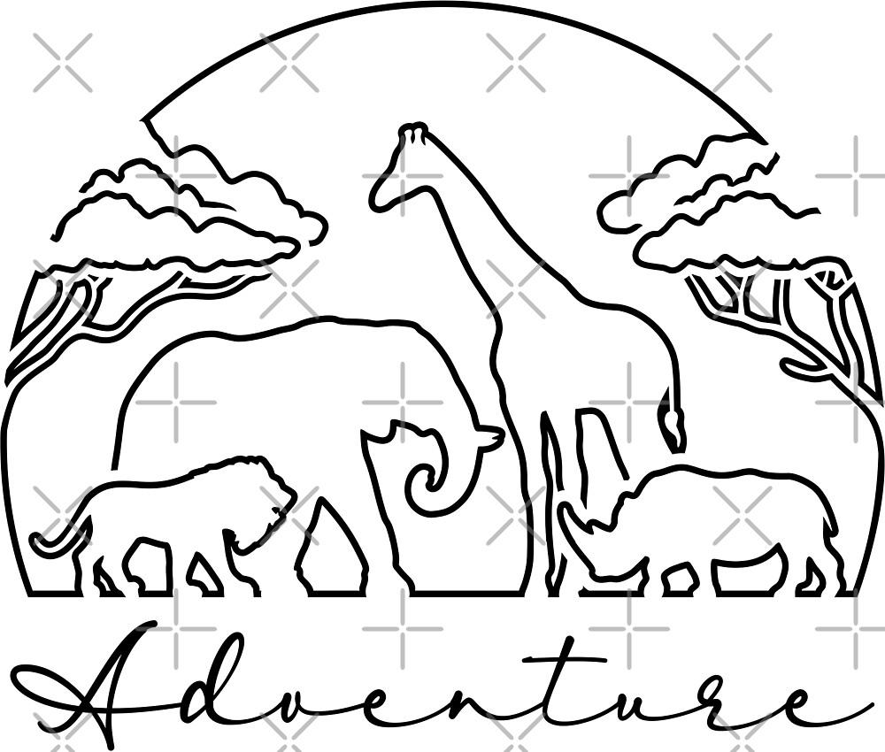 Adventure and Safari in Africa by Bruvi