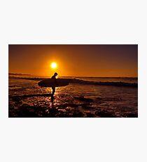 """Dawn Surfer"" Photographic Print"