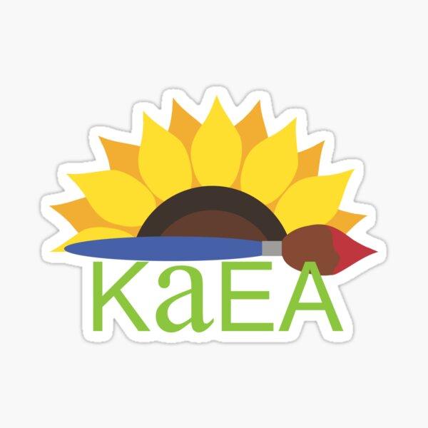 KAEA Sunflower Shirt  Sticker