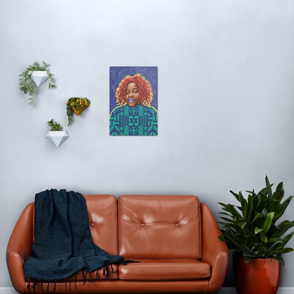 O Gem - AFRIOM Portraits Metal Print
