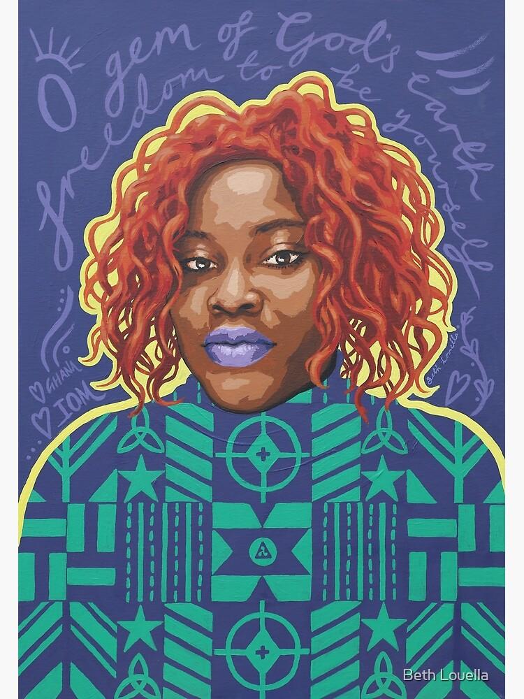 O Gem - AFRIOM Portraits by beth-louella