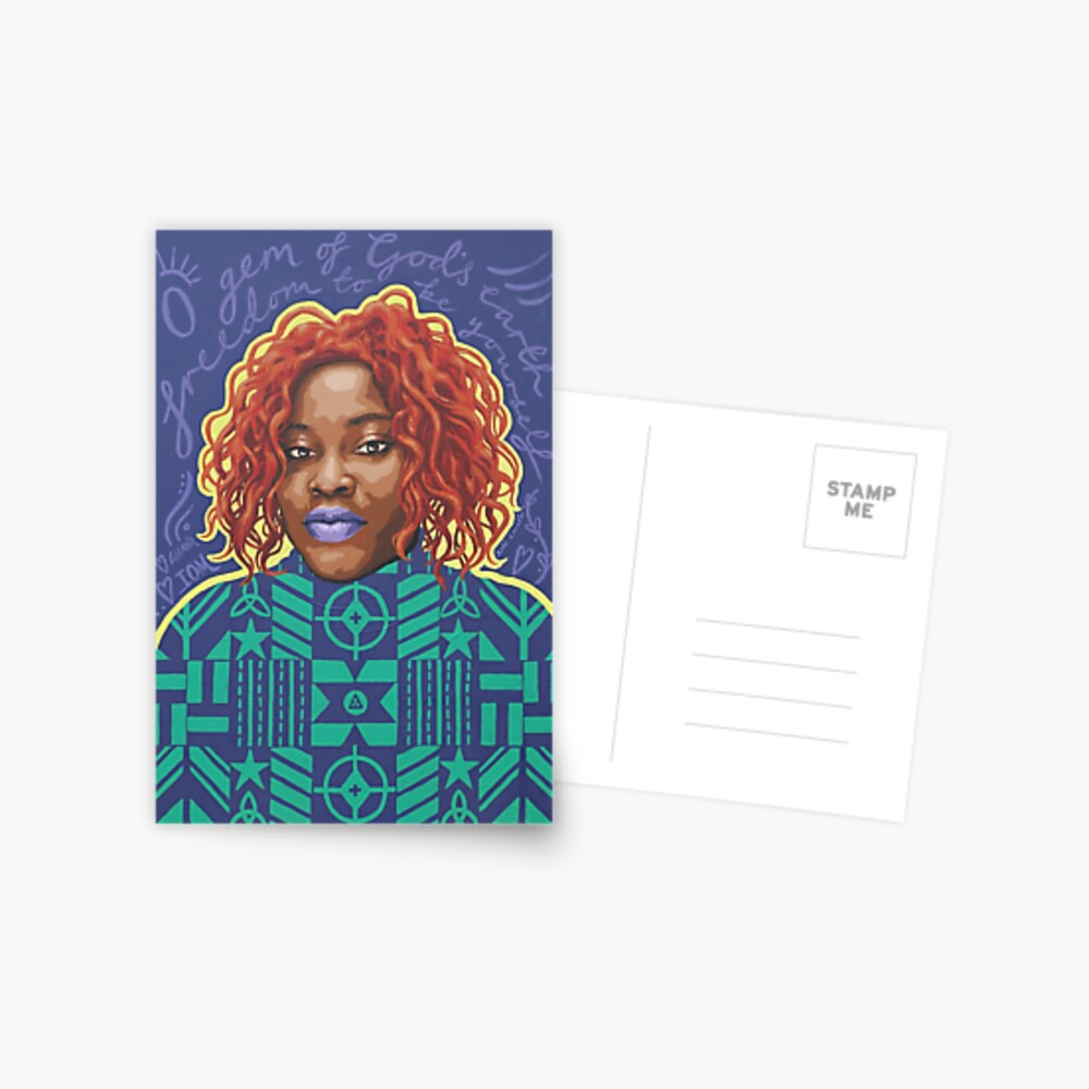 O Gem - AFRIOM Portraits Postcard