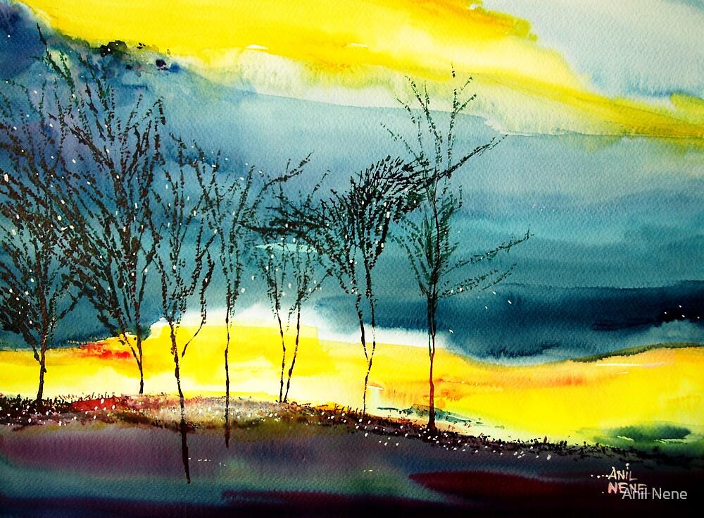Sunset 2 by Anil Nene