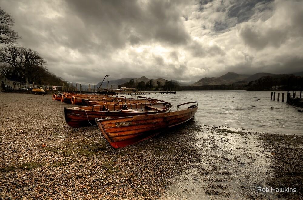 Stormy Skies over Derwent Water  by Rob Hawkins