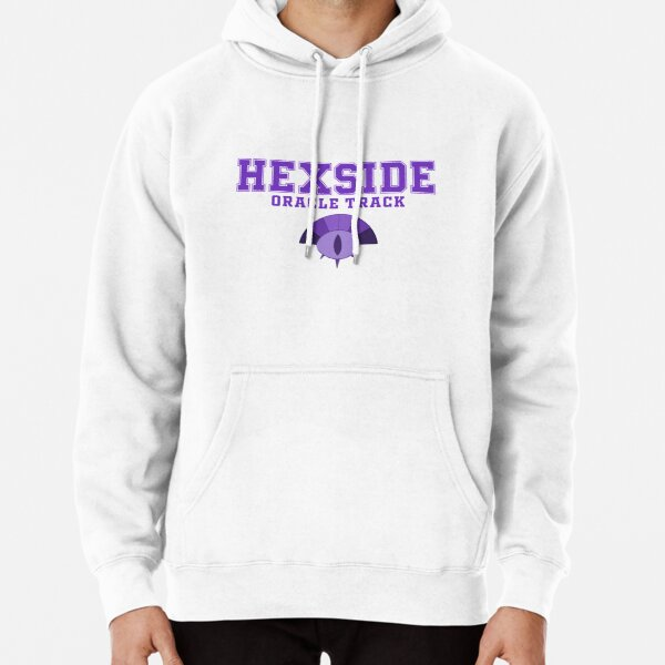 Hexside Oracle Track  Pullover Hoodie
