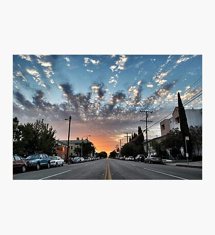 Broadway Blvd Sunrise Photographic Print