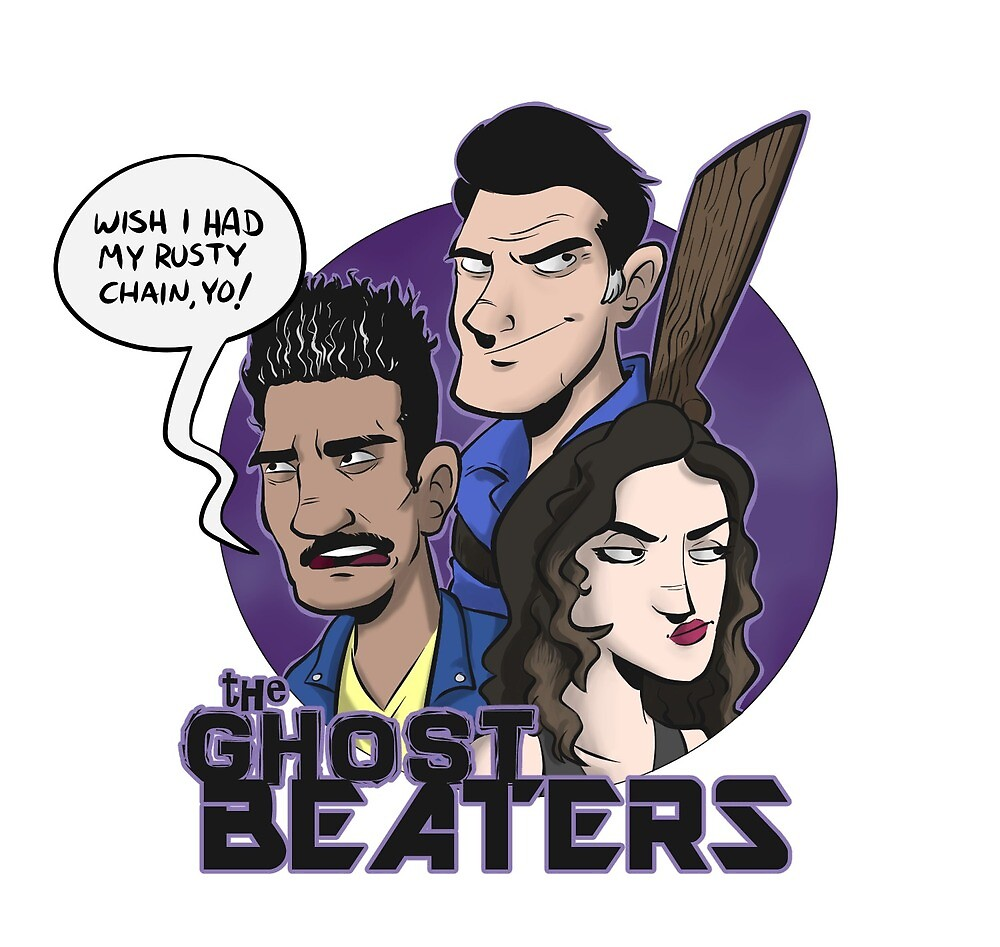 The Ghost Beaters by JetpackBraggin