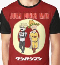 Juan Punch Man Graphic T-Shirt