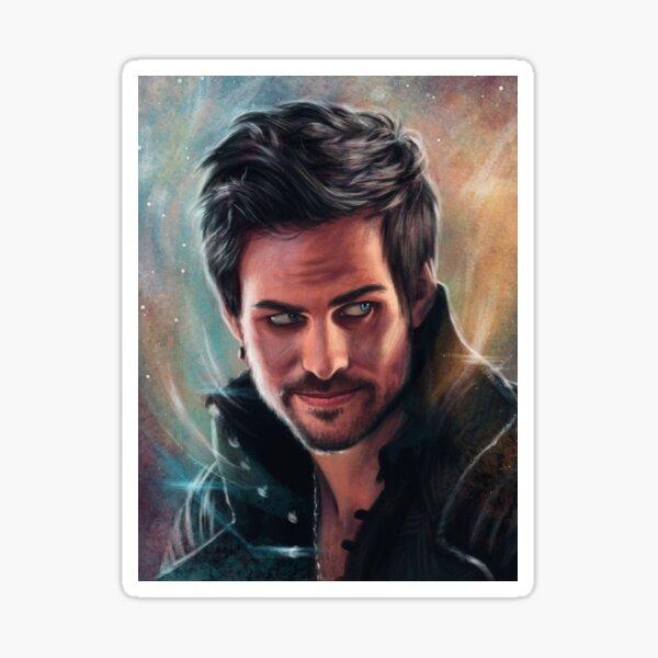 Devilishly Handsome Sticker