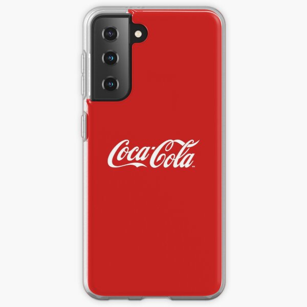 Coca Cola Funda blanda para Samsung Galaxy