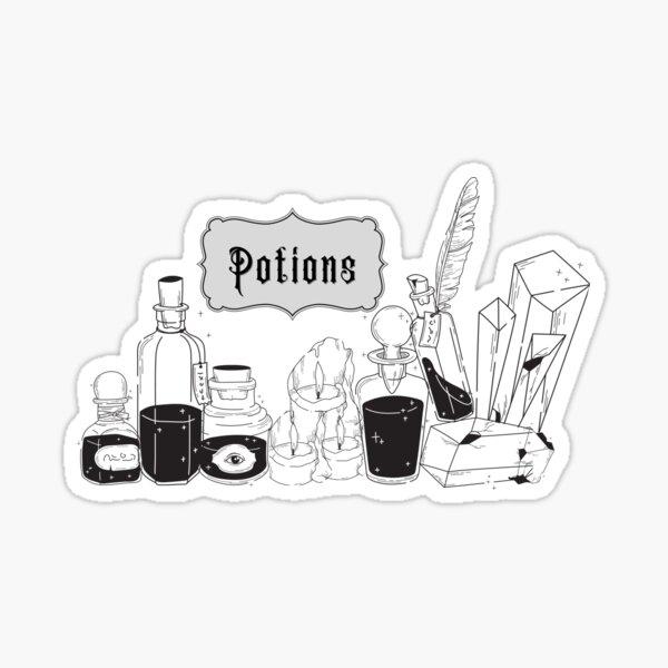 Potions Sticker