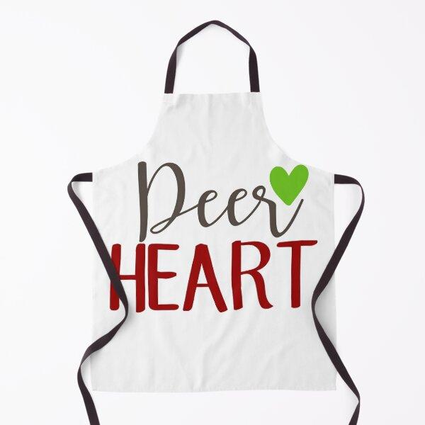 Dear heart: Funny valentine design for lovers. Apron