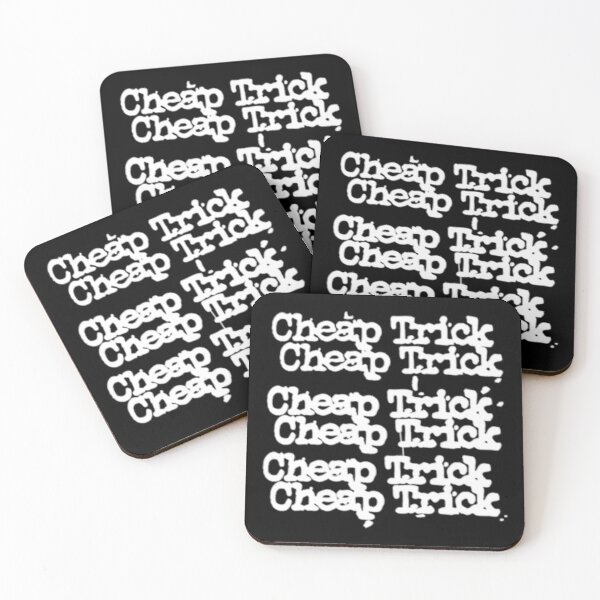 Best Seller classic Rock n Roll Hard Rock Heavy Metal CHEAP Coasters (Set of 4)