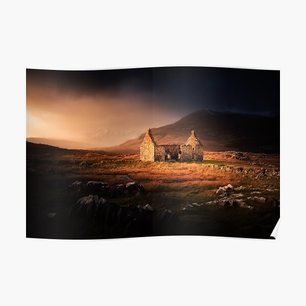 Lost & Found the Ruined Manse on the Isle of Skye Poster