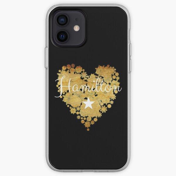 I Love Hamilton Heart | Gift Merchandise for Fans iPhone Soft Case